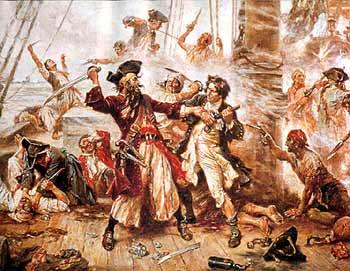 Решающая битва с пиратами