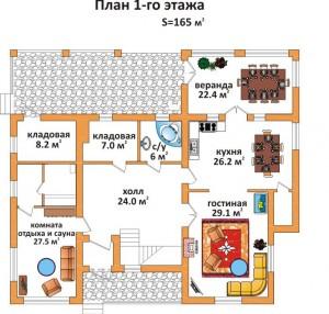 Проект дома для самостоятельного строительства